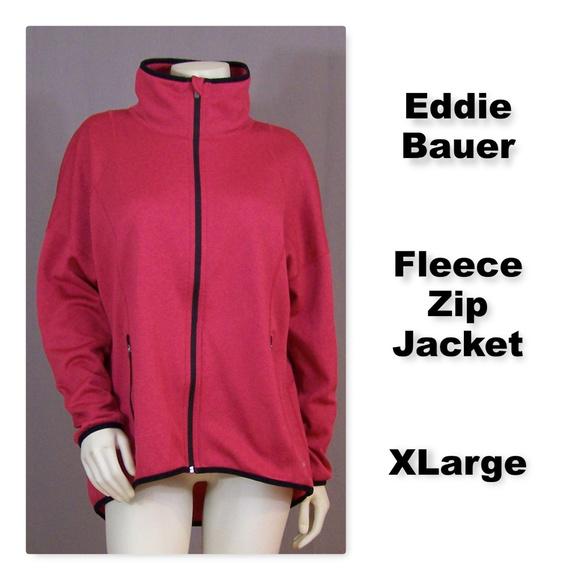 Eddie Bauer Jackets & Blazers - Eddie Bauer Full Front Zip Fleece Jacket